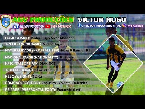 Victor Hugo - Zagueiro/Volante 2002 - Defender U15