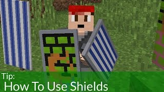 getlinkyoutube.com-How To Use Shields in Minecraft 1.9 [OLD]