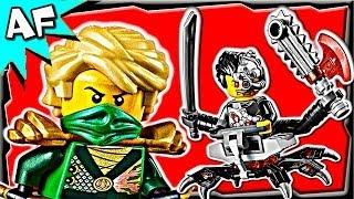 getlinkyoutube.com-OVERBORG ATTACK 70722 Lego Ninjago Rebooted Stop Motion Set Review