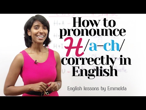 How to Pronounce 'H' correctly in English? – Improve  English pronunciation | Improve your Accent