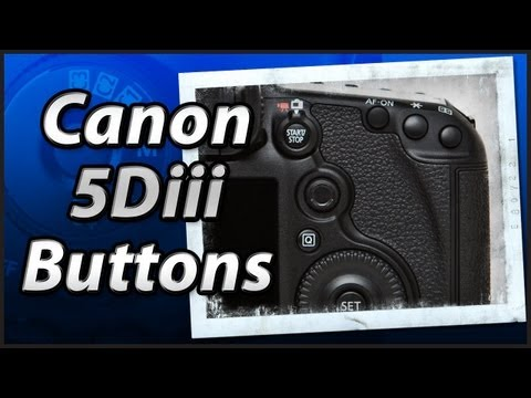 Canon 5Diii - External Buttons - Training Tutorial Manual Video