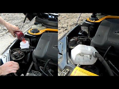 Как заменить масло в гидроусилителе руля (гур) ВАЗ