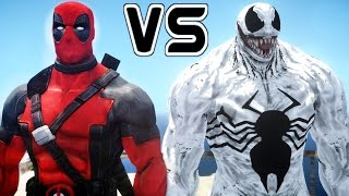 getlinkyoutube.com-Anti Venom vs Deadpool - Epic Superheroes Battle | Death Match
