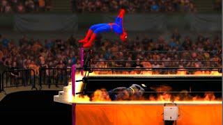 getlinkyoutube.com-Spider-Man vs Batman - WWE 2K15 - EPIC BATTLE