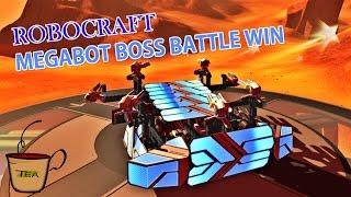 getlinkyoutube.com-Robocraft Gameplay - Megabot Boss Battle WIN!!!