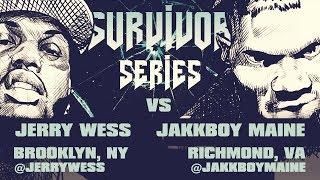 JERRY WESS VS JAKKBOY MAINE RAP BATTLE| URLTV width=