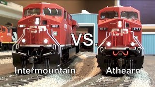 getlinkyoutube.com-Gevo Tug-O-War - Intermountain vs. Athearn Genesis