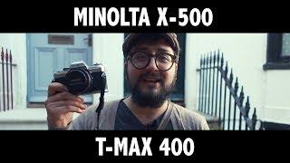 Shoot Film: Minolta X-500