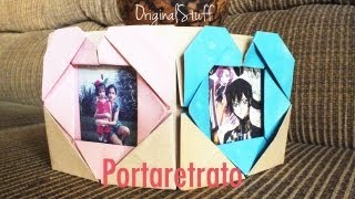 getlinkyoutube.com-Portaretrato con Corazón [Origami] [HD] - Original Stuff