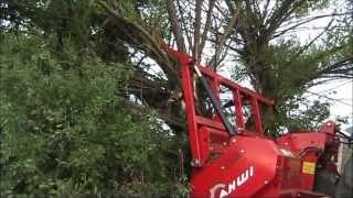 getlinkyoutube.com-Freza forestiera pentru defrisat M 500 - 2300 AHWI