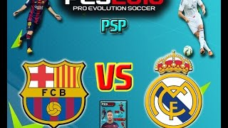 getlinkyoutube.com-PES 16 PSP  Barcelona Vs Real Madrid (Gameplay)