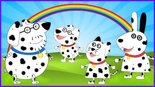 getlinkyoutube.com-Peppa Pig 101 Dalmatians se Disfraza I Disney One Hundred and One Dalmatians I New Disguise