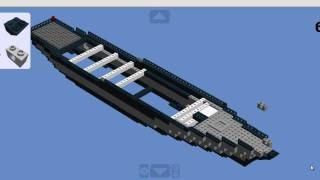 getlinkyoutube.com-How to build a lego battleship