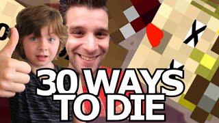 getlinkyoutube.com-30 WAYS TO DIE   Minecraft   DAVID & DO custom map!