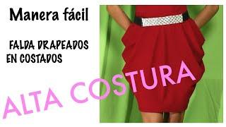 getlinkyoutube.com-FALDA DRAPEADA (TRAZADO Y PRUEBA)