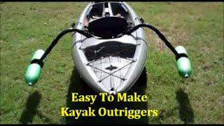 getlinkyoutube.com-EASY Homemade Kayak Outriggers - Pontoons - Stabilizers ~DIY