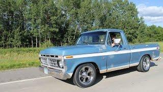 76 ford f100 djm lowering  kit