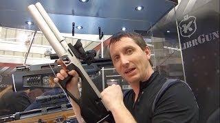 getlinkyoutube.com-Kalibr Colibri Semi-Automatic Bullpup Air Rifle - IWA 2014