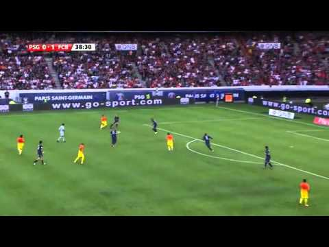 Lionel Messi in Barcelona vs Paris Saint Germain HD 720p (04/08/2012)