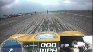 Hennessey 705 hp ZR1 Standing Mile - Warm-Up Run