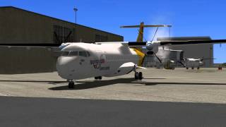 getlinkyoutube.com-MiSO X-Plane Brainerd Lakes Regional Airport