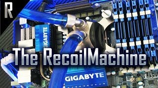 getlinkyoutube.com-◄ Wall mounted, Water cooled gaming PC (The RecoilMachine)