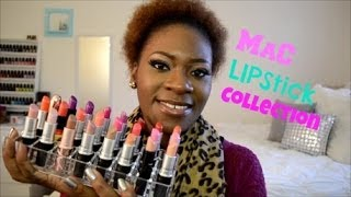 getlinkyoutube.com-Mac Lipstick Collection + lip swatches