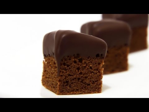 Chocolate Mud Cake Bites - Valentine's Day Special Recipe