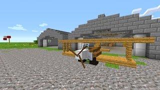 getlinkyoutube.com-Funktionierendes Flugzeug in Minecraft Vanilla! - Minecraft Map