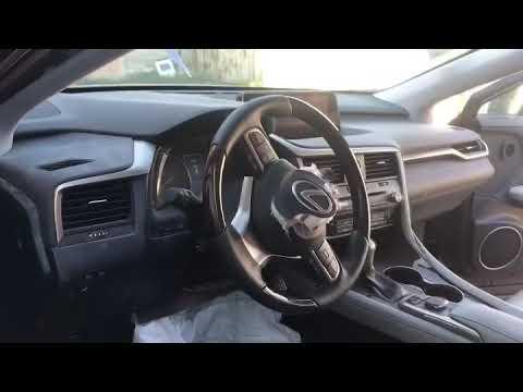 Где находятся в Lexus РХ350 подушки безопасности