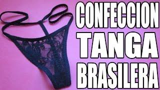 Cómo confeccionar una tanga brasilera