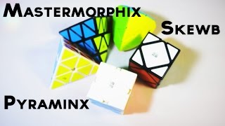 MoFangGe QiYi Mastermorphix, Pyraminx & Skewb First Impressions