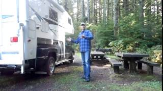 getlinkyoutube.com-Living in a Truck Camper - OFF THE GRID