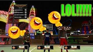 getlinkyoutube.com-EXPOSING TRASH LEGEND 2 CLAN | NBA 2K16 MY PARK
