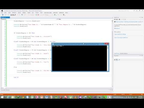 3- شرح فيجوال بيسك دوت نت 2012 - Visual Basic Dotnet 2012 Lesson 3