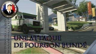 GTA 5 Une Attaque De Fourgon Blindé Parfois, ça ne se passe pas comme prévu