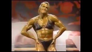 getlinkyoutube.com-Female Bodybuilder Most Muscular Compilation II