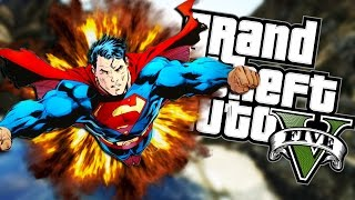 getlinkyoutube.com-I'M SUPERMAN! | Grand Theft Auto V (Next Gen Gameplay) #3