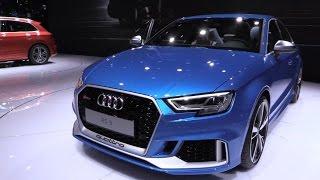 Audi RS3 Sedan 2017 In Depth Review Interior Exterior width=