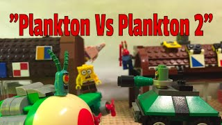 "getlinkyoutube.com-Lego Spongebob Episode 32 ""Plankton Vs Plankton 2"""