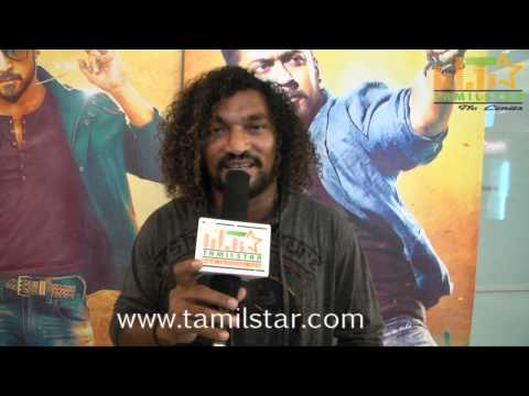 Stunt Master Silva Speaks at Anjaan Audio Launch