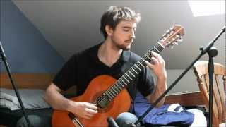 The Lord of the Rings - Concerning Hobbits (Classical Guitar)
