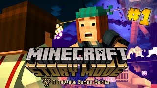 getlinkyoutube.com-Minecraft Story Mode (Pocket Edition) - ORDER OF THE PIG! - Episode 1 (#1)
