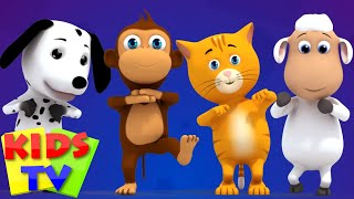 getlinkyoutube.com-animals finger family | animals sound song | nursery rhyme | kids songs | 3d rhymes