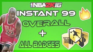 getlinkyoutube.com-*NEW* NBA 2K16 | 99 OVERALL + ALL BADGES GLITCH :: AFTER PATCH 6 (PS4 AND XBOX)