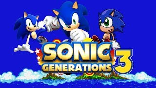 getlinkyoutube.com-Sonic Generations 3 ROM Hack Update 1