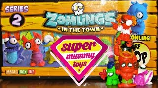 getlinkyoutube.com-Mega Zomlings Series 2 Blind Bags Toy Unboxing | Zomlings Serie 2 Bolsas Ciegas