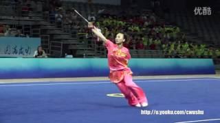 2016 China wushu championship(female)JianShu, Han wencon 1st place