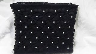 getlinkyoutube.com-CARTERA DE PERLAS Y CROCHET
