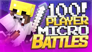 getlinkyoutube.com-100 PLAYER MICRO BATTLES ( Minecraft Server Minigames w/ TheCampingRusher )